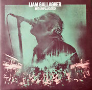 Liam Gallagher Mtv Unplugged White And Green Splattered Vinyl Lp Neuf / New