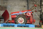 Gravely Professional 5665 Walk Behind Two-wheel Tractor W/snow Plow 120 Hours