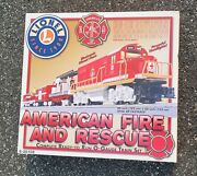 Thriftchi Lionel American Fire And Rescue O-scale Train Set Nib