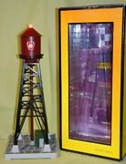 Mth 30-90314 Pennsylvania Prr 193 Industrial Water Tower W/beacon Wks W/ Lionel