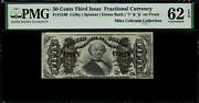 Fr-1340 0.50 Third Issue Fractional Currency - 50 Cents - Pmg 62 Epq