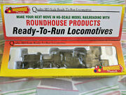 Rare Never-used Roundhouse Ready-to-run 3-truck Shay Steam Loco Ho L@@k