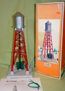 Lionel 12958 Reissue Of 193 Industrial Water Tower With Flashing Beacon 97/98