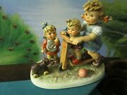 Hummel Original Scooter Time Figurine New In Box With 1976