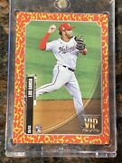 2021 Topps Transcendent Vip Part Luis Garcia Rookie One Of One 1/1