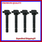 4pc Ignition Coil Jac629 For 2008 2009 Honda Accord L4 2.4l Ignition Coil Set