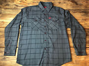 Dixxon Flannel Co The Lafayette Grey And Red Size Large