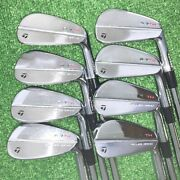 Secondhand Taylormade 7tw Iron Pieces Set 9/pw Dynamic Gold Tour Issue X100