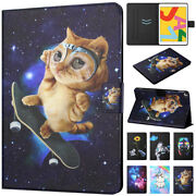 For Apple Ipad Models Smart Magnetic Leather Flip Stand Case Patterns Cover