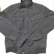 Polo Authentic Bomber Flight Jacket Black Size M Used From Japan