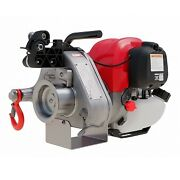 Portable Winch Pcw4000 Gas-powerered Pulling Winch Gx50 Pro Series 2200 Lbs