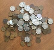 Lot Of 160 American Collectible Coins 41 Buffalo Nickles 119 Wheat Penniesandnbsp
