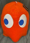 New Big 14 Pacman Blinky Red Ghost Plush Toy Factory Round 1 Toreba Sugarloaf