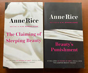 The Sleeping Beauty Trilogy By Anne Rice A. N. Roquelaure Book 1 And 2 - Pb
