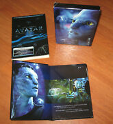 Avatar Dvd Movie Extended Collector's Edition 3 Disc Box Set James Cameron