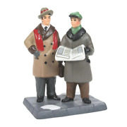 Department 56 Breaking News 6007589 Dept 2021 Christmas In The City