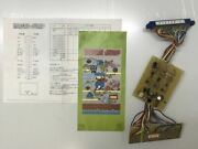 Masao Jump Arcade Game Board With Special Harness Copies Of Manuals Used F/s Jpn