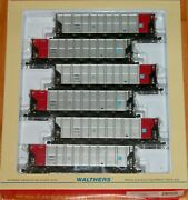 Walthers 932-60454 Rd4 Coal Hopper 6-pack Comx