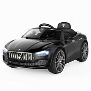 Maserati Licensed 12v Kids Ride On Car Battery Powered Toy W/remote Mp3 Led