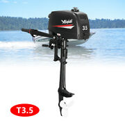 2 Stroke 3.5hp Outboard Motor Boat Engine Cdi Ignition System Manual Starting Us