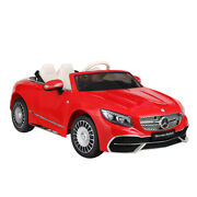12v Kids Ride On Electric Car Mercedes Maybach S650 Toy W/remote Mp3 Led Lights