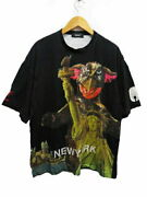 Undercover 19ss Zoruge Ny Tee Dinosaur Design Big Silhouette T-shirt