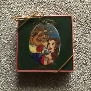 Beauty And The Beast Disney Christmas Ornaments