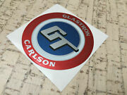 Glastron Carlson Gt Bow Decal For Glastron Carlson Boats + Small Gt Decal Extra