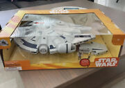 Star Wars Disney Parks Millenium Falcon Play Set With Figurines Discontinued New