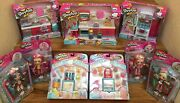 Shopkins Season 6 Chef Club Shoppies Dolls And Playsets Complete Collector Lot New