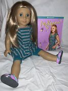 Two American Girl Dolls Of The Year Mckenna And Isabelle With Various Accessories