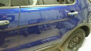 2011-2014 Ford Explorer Driver Rear Side Door Electric Privacy Glass Blue