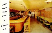 Yonkers Ny Cremona Manufacturers Restaurant Bar Store Fixtures Vintage Postcard