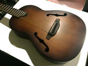 K.yairi Nocturne Ctm All Veneer Parlor Guitar Outside The Catalog F-hole