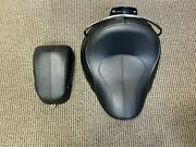 Used Harley-davidson Rider Seat And Passenger Pillion For Softail Deluxe