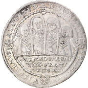 [897756] Coin German States Saxe-middle-weimar Joint Rule Thaler 1609 Ef