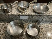 Paul Revere Cookware. Stainless Steel No Lids.