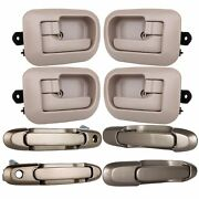8x Exterior And Interior Front And Rear For 1998-2003 Toyota Sienna Door Handles