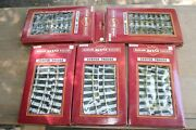 Bachmann G Gauge 2 Straight Track 94511 And 3 Curved Track 94501 Boxes New Jb