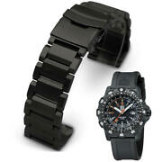 Metal Replacement Watch Band Fits Luminox Recon Point Man 8820 8821 8822 5002