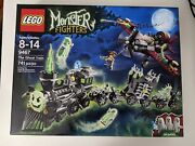 Lego Monster Fighters The Ghost Train 9467 New Factory Sealed Excellent Box