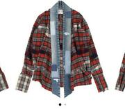 Greg Lauren Authentic Mixed Plaid Gl1 Studio Shirt Size 1 Used From Japan