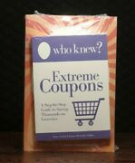 Set Of 5 Who Knew Books Sealed Who Knew More Extreme Coupons Free Stuff...