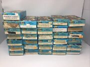 Vintage Ho Scale Athern Railroad Train Boxcars Lot Of 31 With Boxes