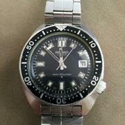 Seiko Diver Second Automatic 6105-8000 Date Vintage Menand039s Watch 1968 Wl34906