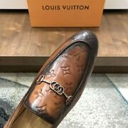 Louis Vuitton Monogram Logo Slip-on Loafer. Size Us 10 Discontinued