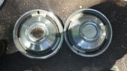 1967 67 Chevrolet Chevy Caprice Impala Wheel Covers Hubcaps 14 Inch Set Of 2