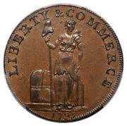 1795 Cent Talbot Colonials - Talbot Allum And Lee Tokens Pcgs Au58bn