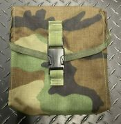 5.56 .223 Molle 200 Rnd General Purpose Pouch Woodland
