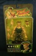 Guile Green Street Fighter Capcom Player Select Round 3 2005 Action Figure Sota